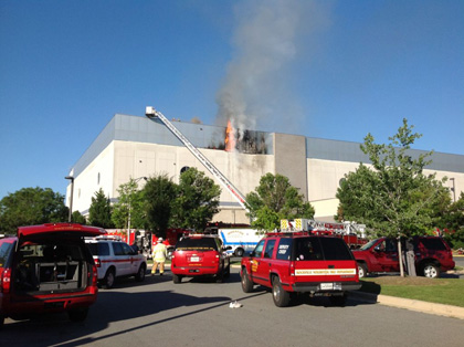2 Alarm Fire At Marlo Furniture Store In Rockville 2