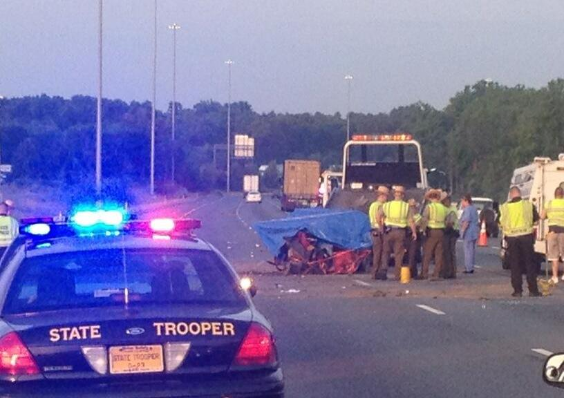 1 Killed in I-95 Crash in Md  With Tanker – CBS DC