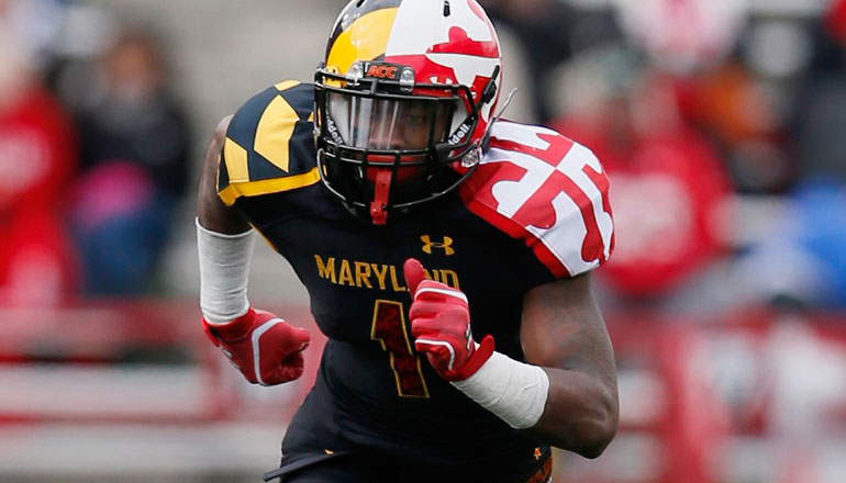 Sky S The Limit For Maryland S Humble Stefon Diggs Cbs Dc