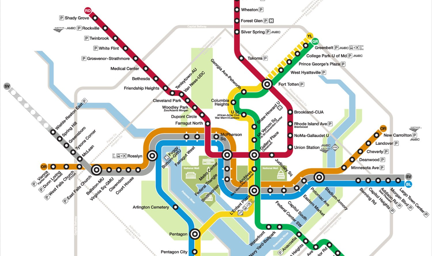 Washington Dc Subway Map Silver Line.Metro Date Of Silver Line Opening Coming Soon Cbs Dc