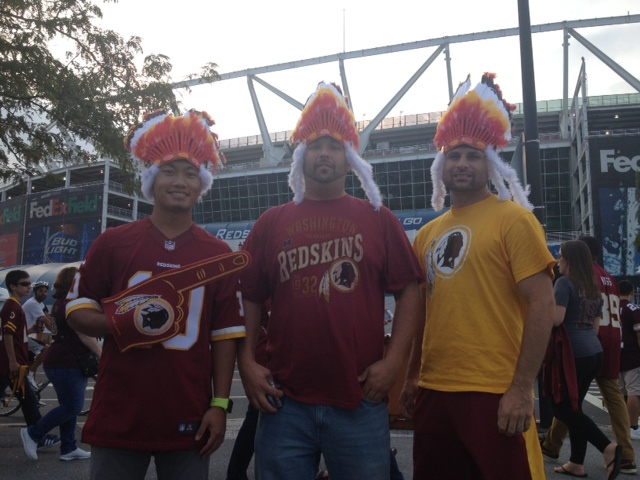 35cc6c9d Redskins Fan Cried in Car Over Trademark Ruling: 'We're Keeping the ...
