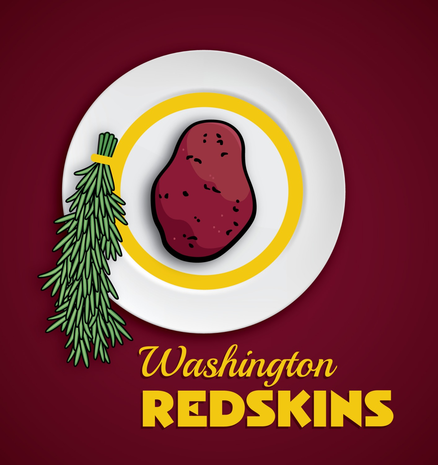 PETA: Change Redskins Logo From Indian Head To Potato – CBS DC