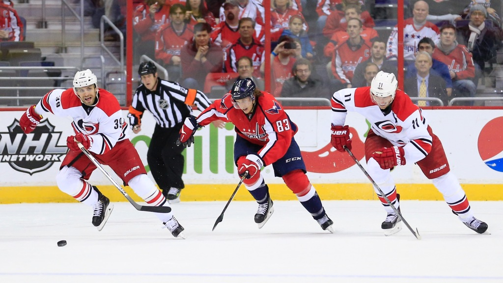 Skinner Leads Hurricanes Over Capitals 4-1 – CBS DC