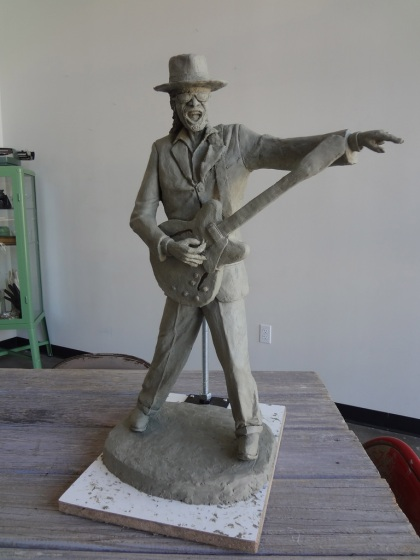 Charles Bergen's entry for the Chuck Brown Project. (Photo credit: Charles Bergen)