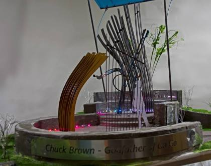 Jackie L. Braitman's entry for the Chuck Brown Project. (photo credit: Jackie L. Braitman)