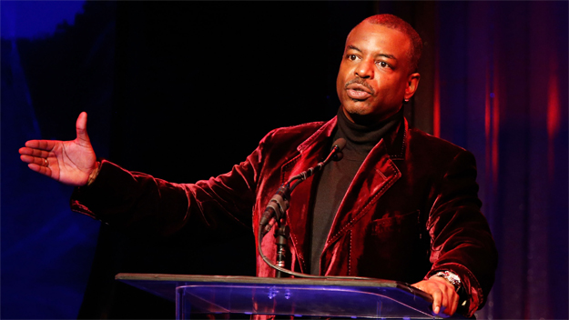 """Levar Burton, Former Host and Producer of """"Reading Rainbow"""" (Photo Credit: Imeh Akpanudosen/Getty Images)"""