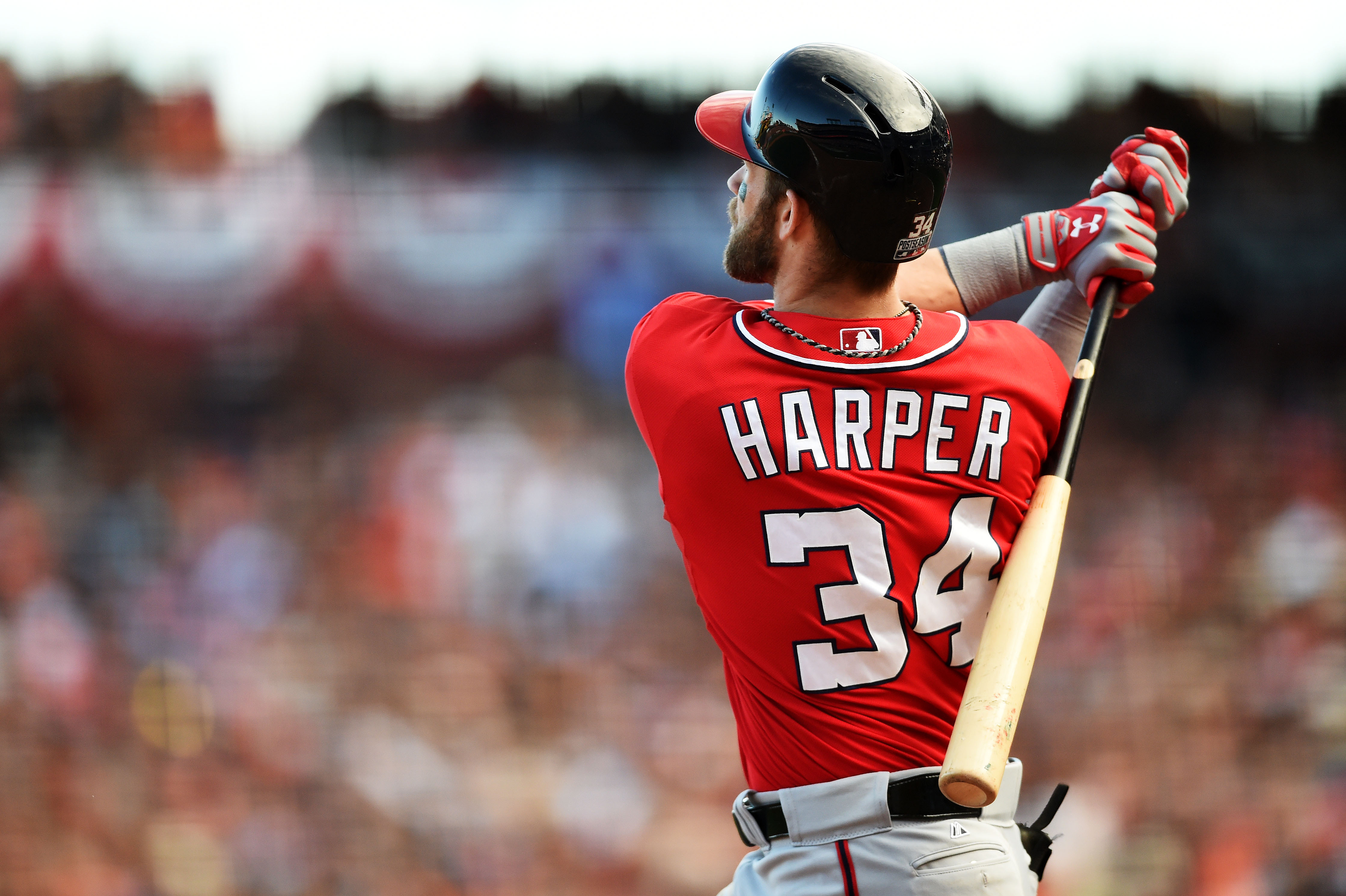 brand new 56f99 d2bf5 Bryce Harper Jersey Sales Crack Top 5 for First Time Since ...