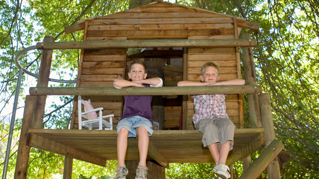 How To Build The Perfect Backyard Tree House Cbs Dc