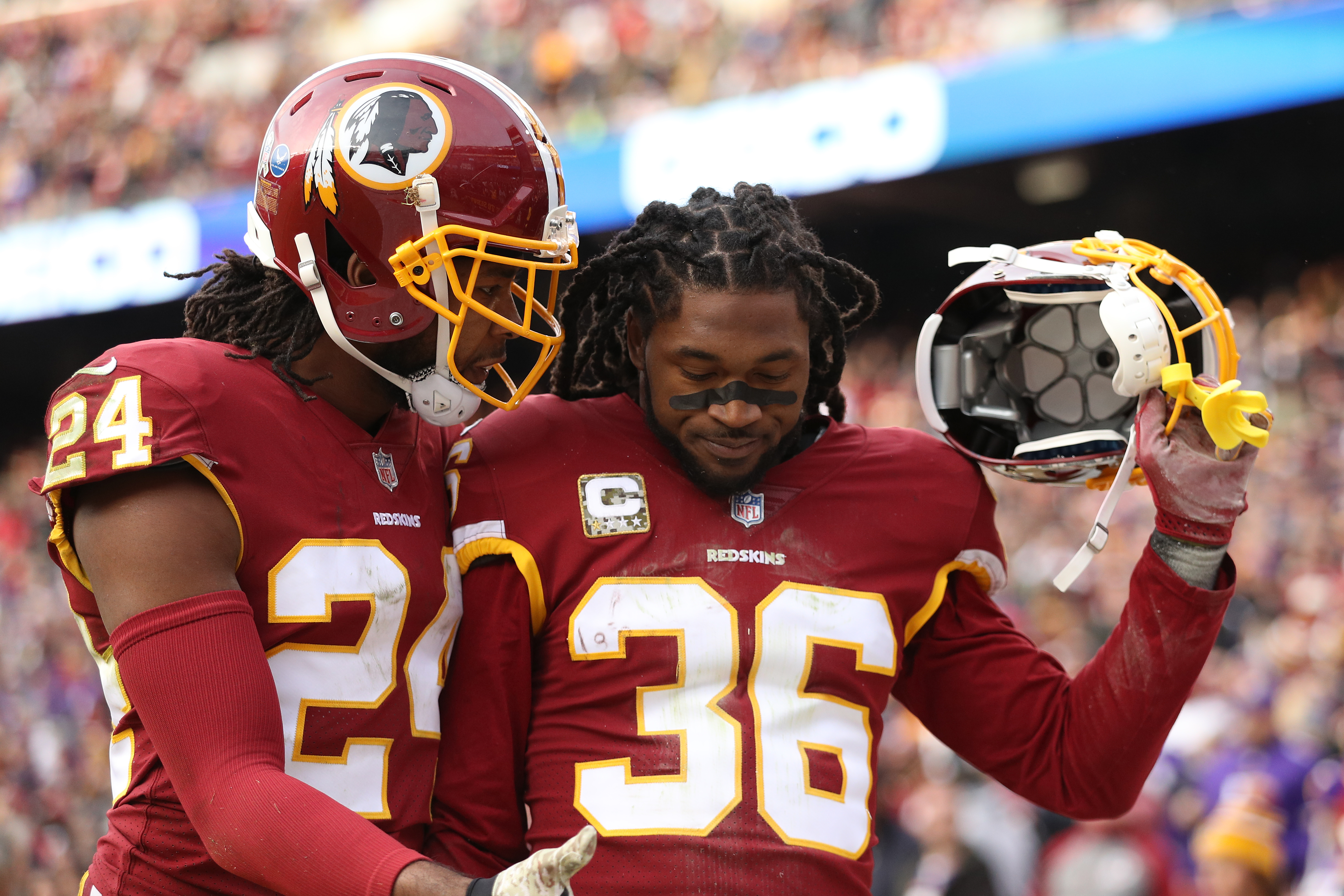 reputable site eb7c3 be1a5 D.J. Swearinger Has Career Day But Laments Team Loss – CBS DC