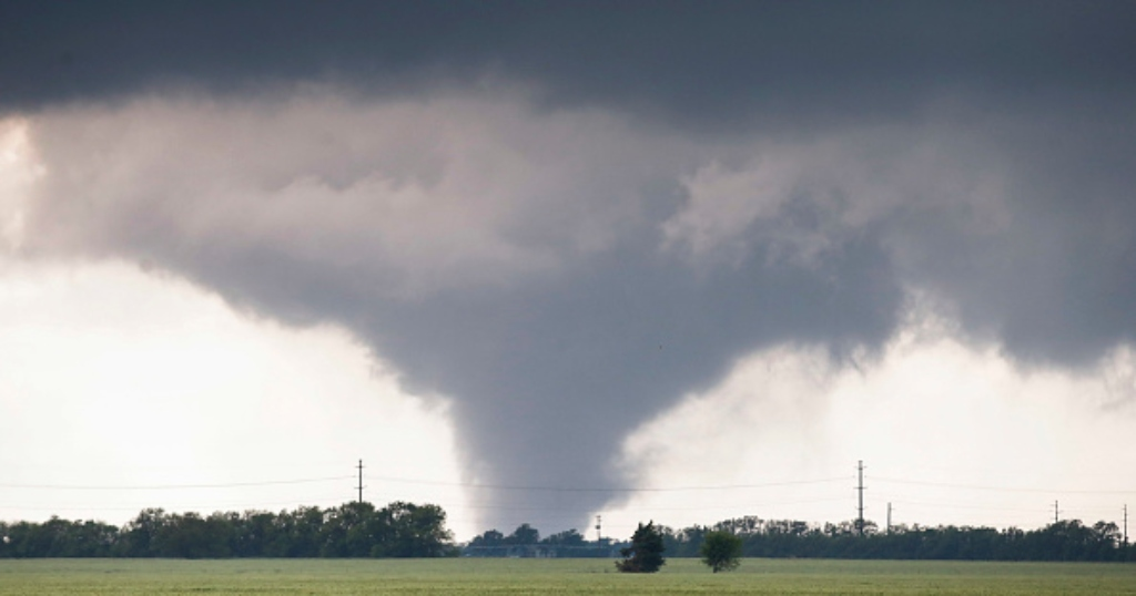 'It Was Just A Shock Really': Photo Blown Over 100 Miles Away During Easter Tornado