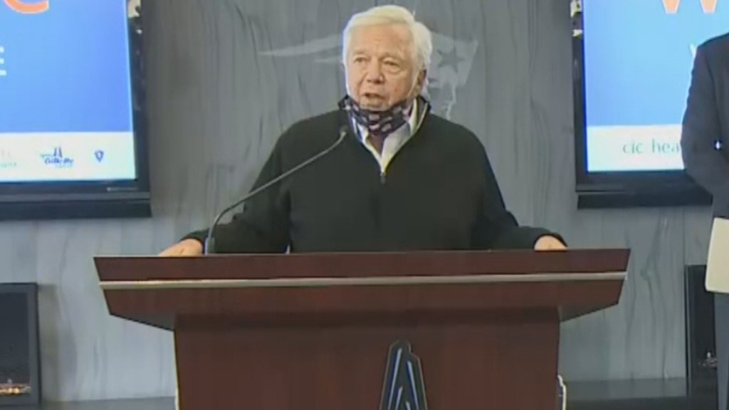 'We Have To Get Our Country Back': Patriots Owner Robert Kraft Urges Other Sports Venues To Become COVID Vaccine Sites